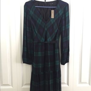 NWT J Crew Plaid Dress